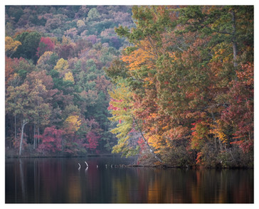 Fall, Lake Petit, Big Canoe, Georgia