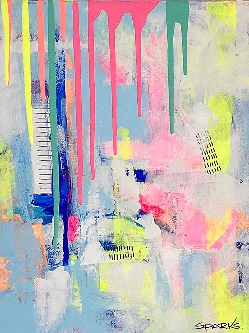 Rainbow on rainy days, Michelle Sparks