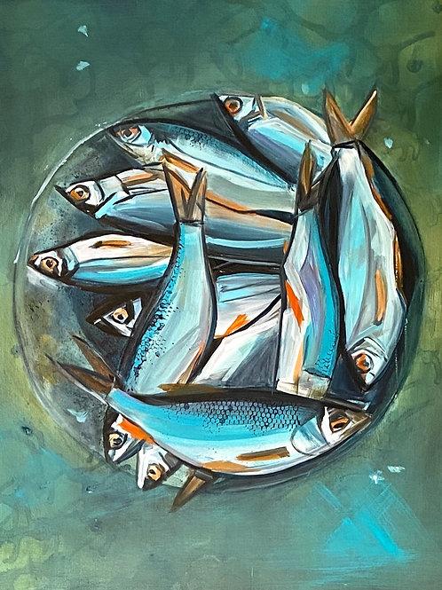 Plate of Fish, Nicole McPherson