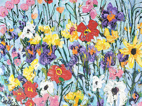 Flowers of Summer, Dave Calkins [SOLD]