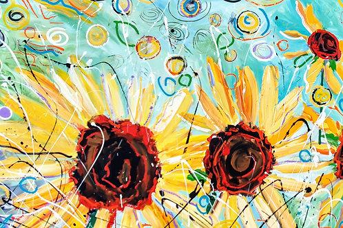 Cosmic Suns #4, Dave Calkins