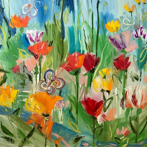 Spring Flowers, Dave Calkins