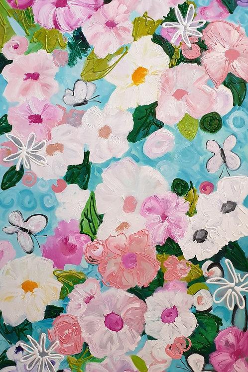 Four Butterflies, Dave Calkins [SOLD]