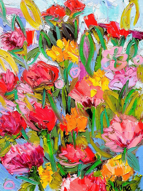 Summer Flowers, Dave Calkins [SOLD]