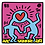 Thumbnail: Pop Shop (Heart) - Keith Haring [SOLD]