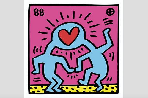 Pop Shop (Heart) - Keith Haring [SOLD]