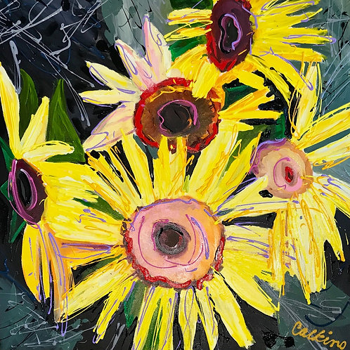 Five Sunflowers, Dave Calkins