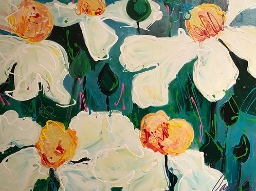 Fried Egg Poppies #4, Dave Calkins