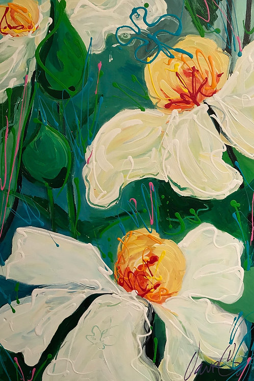 Fried Egg Poppies #3, Dave Calkins