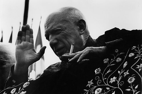 Picasso et bullfights, Frejus, August -  Clergue