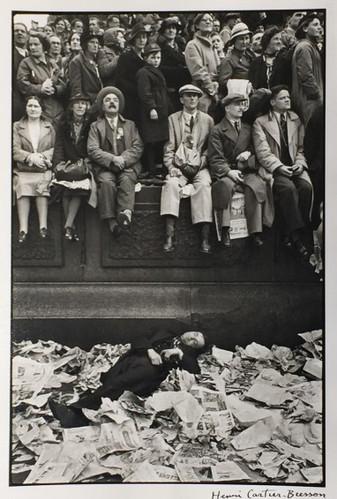 Couronnoment de Georges Vl, Londres, Henri Cartier Bresson