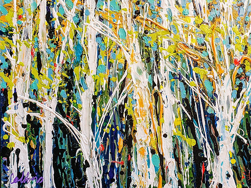Trees at the Edge, Dave Calkins [SOLD]
