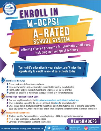 Enroll in MDCPS English