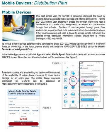 Mobile Device Distribution Plan