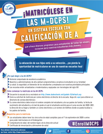 Enroll in MDCPS Spanish