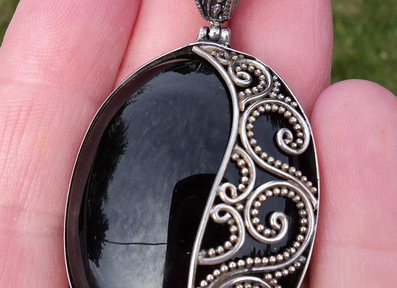 Black Obsidian - cleanses negativity