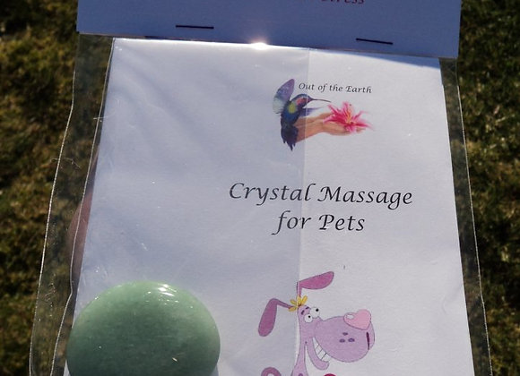Crystal Massage & Meditation Kit for Pets De-Stress