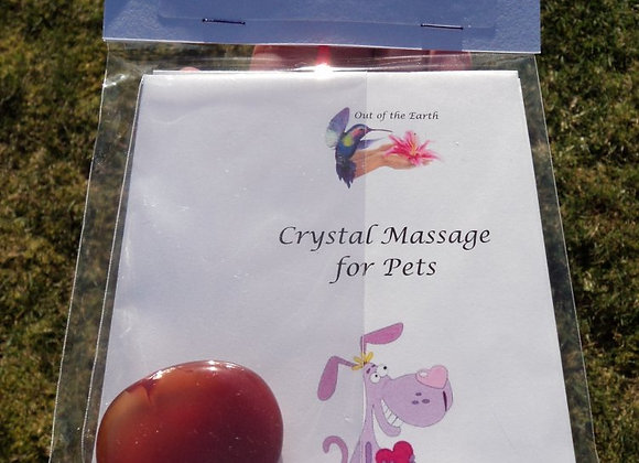 Crystal Massage & Meditation Kit for Pets - recuperation