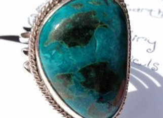 chrysocholla ring