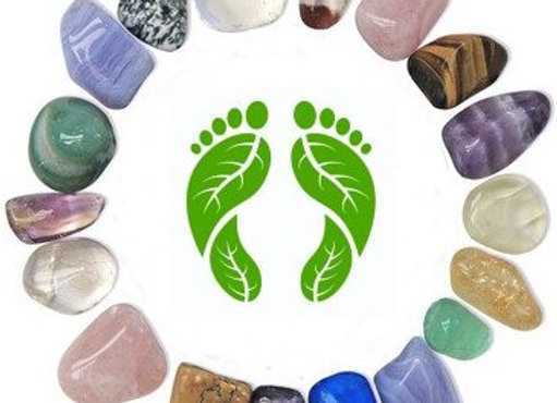 aromatherapy crystal massage