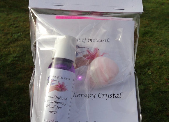 aromatherapy crystal kit for sleep