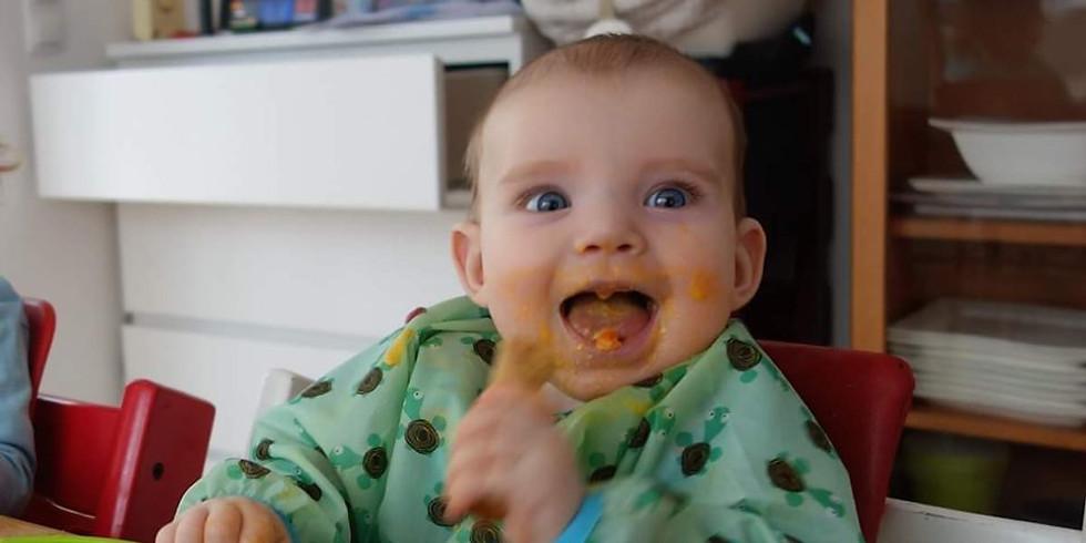 ONLINE Spielend Essen kennenlernen – babygeleitete Beikosteinführung
