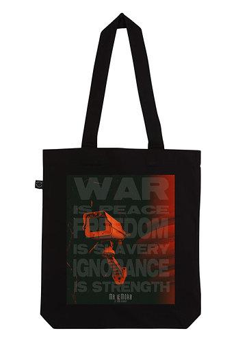 WAR IS PEACE 1984 Tote bag