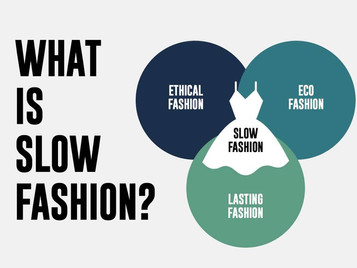 What does slow fashion means ?