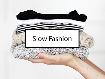 What is Slow Fashion (vs Ethical Fashion & Sustainable Fashion)?