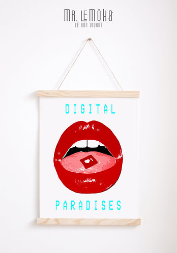 DIGITAL PARADISES Poster
