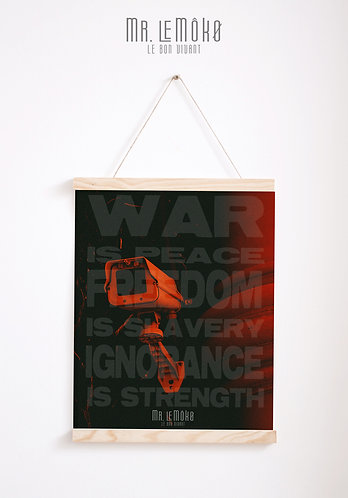 WAR IS PEACE Poster
