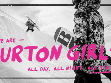 BURTON SNOWBOARD VIDEO        Las chicas Burton / The Burton Girls