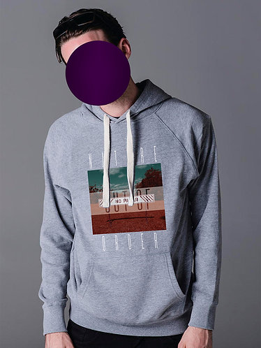 Men's NATURE OUT OF ORDER Hoodie