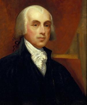 James Madison Portrait by Catherine Drinkler, 1875