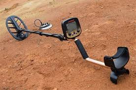 Metal Detector on sand