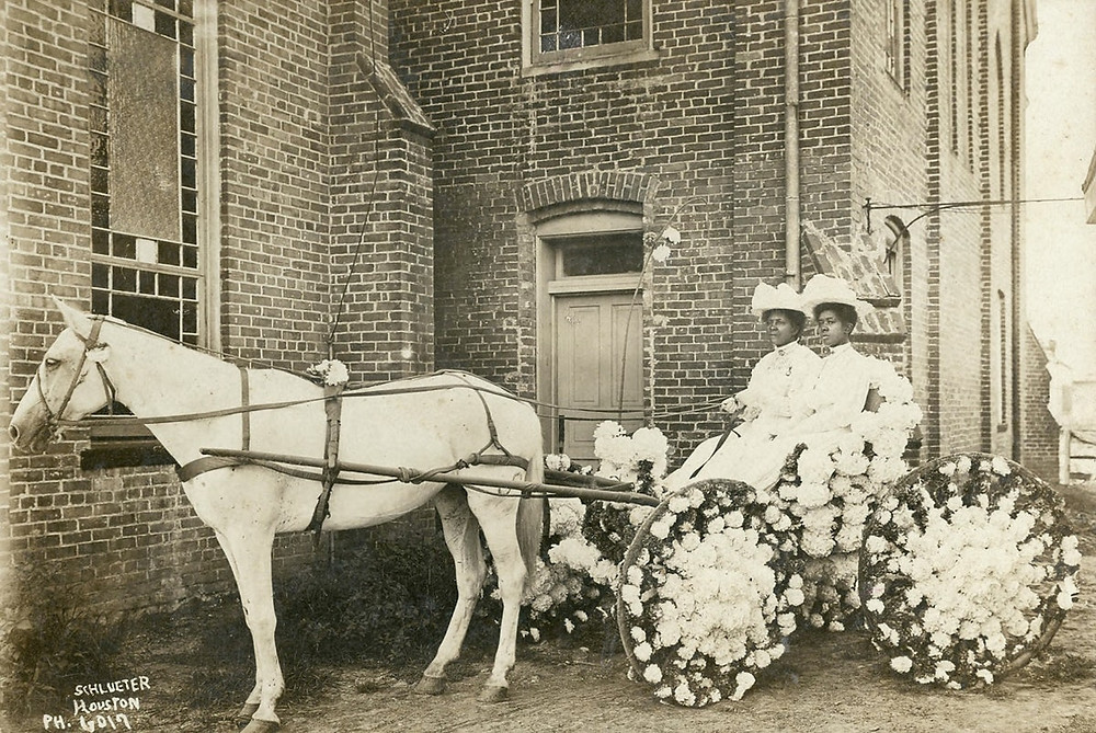 Vintage picture of a Juneteenth celebration