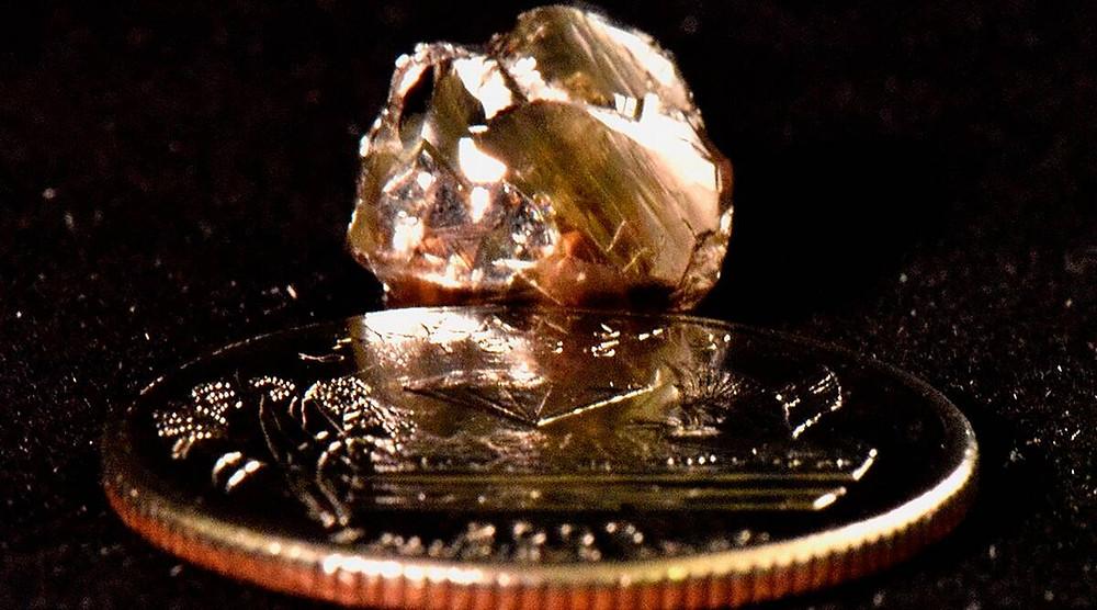 Diamond found at state park.
