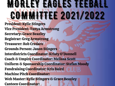 2021/2022 Committee
