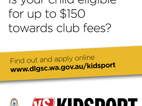 WE ARE A KIDSPORT CLUB