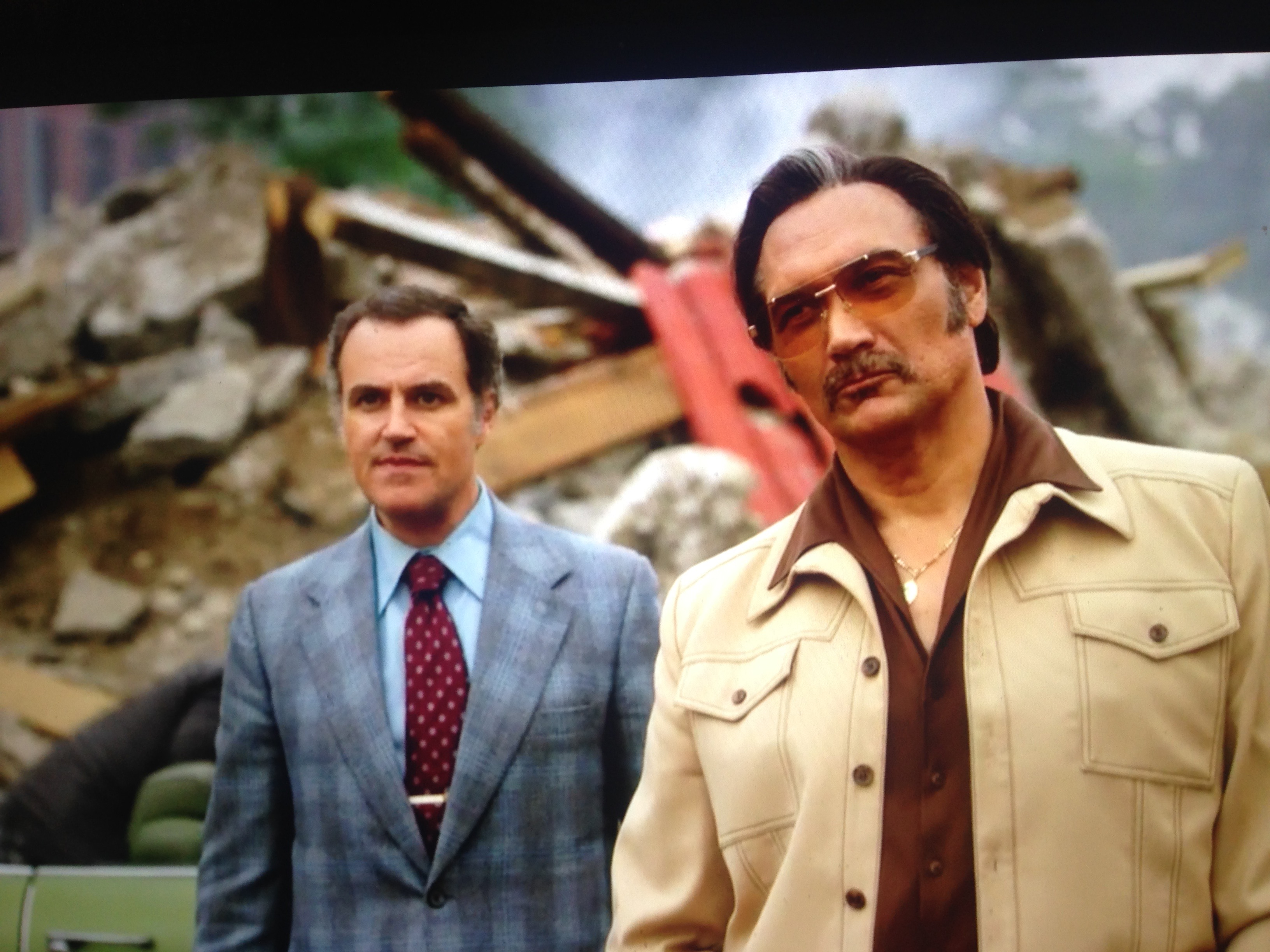 "with Jimmy Smits in ""The Get Down"""