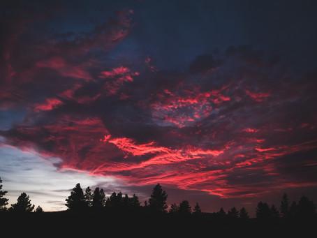 'Leaving Spokane' by Dan A. Cardoza