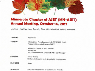 Fall 2017 Meeting agenda