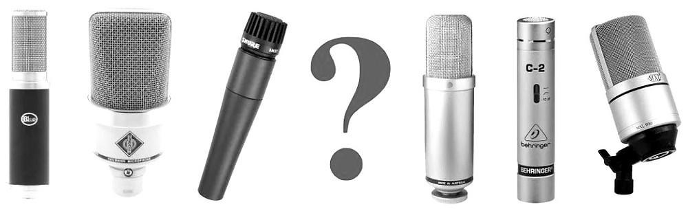Quel micro pour chanter, enregistrer sa voix en studio d'enregistrement ?