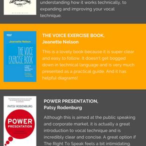 Books on Voice