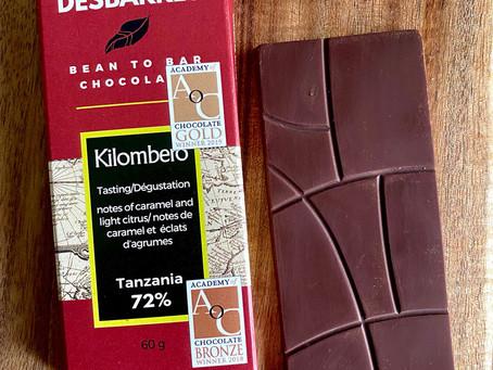 Desbarres, un chocolate orgánico de sabor único