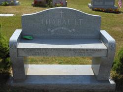 Heirloom Blue Gray bench