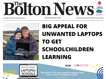 Check us out in The Bolton News