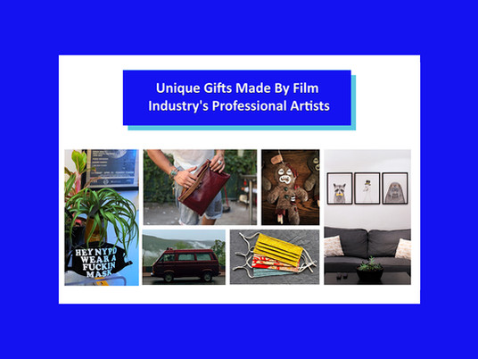 Unique Gifts Made By Film Industry's Professional Artists