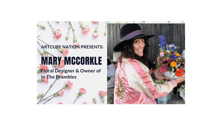 Mary McCorkle: Event Producer turned Floral Designer, Owner of In the Brambles & Cuber
