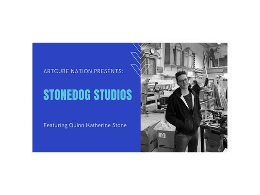 Meet Quinn, Owner of StoneDog Studios, Carpenter, Designer, Jill of all Trades.